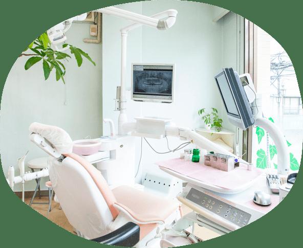 小野歯科の院内